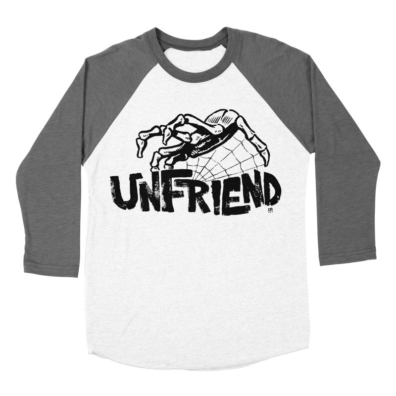 Unfriendead Men's Baseball Triblend T-Shirt by Cheap Chills Fan Club