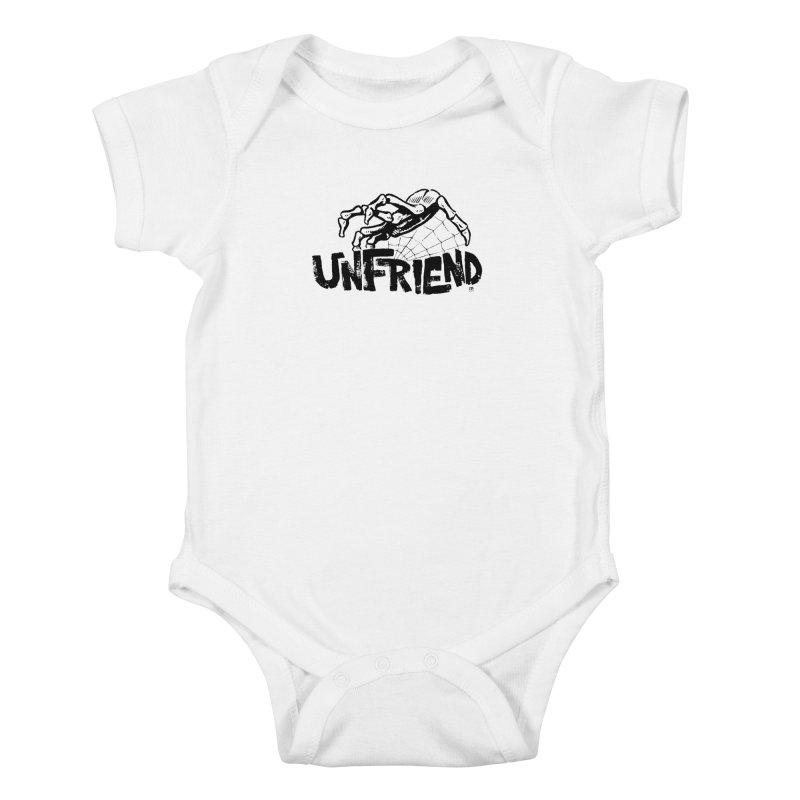Unfriendead Kids Baby Bodysuit by Cheap Chills Fan Club