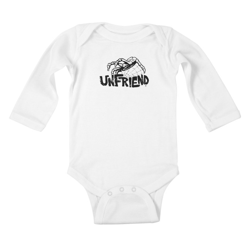 Unfriendead Kids Baby Longsleeve Bodysuit by Cheap Chills Fan Club