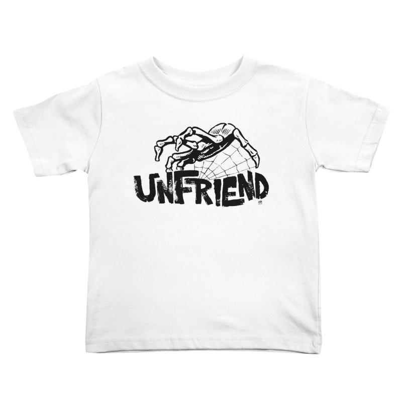 Unfriendead Kids Toddler T-Shirt by Cheap Chills Fan Club