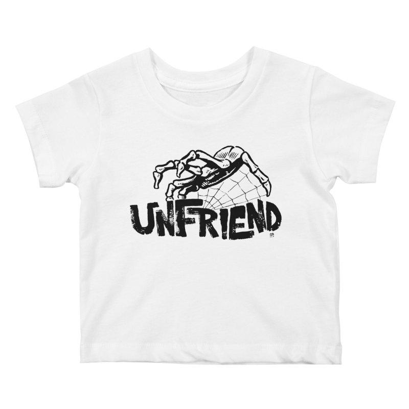 Unfriendead Kids Baby T-Shirt by Cheap Chills Fan Club