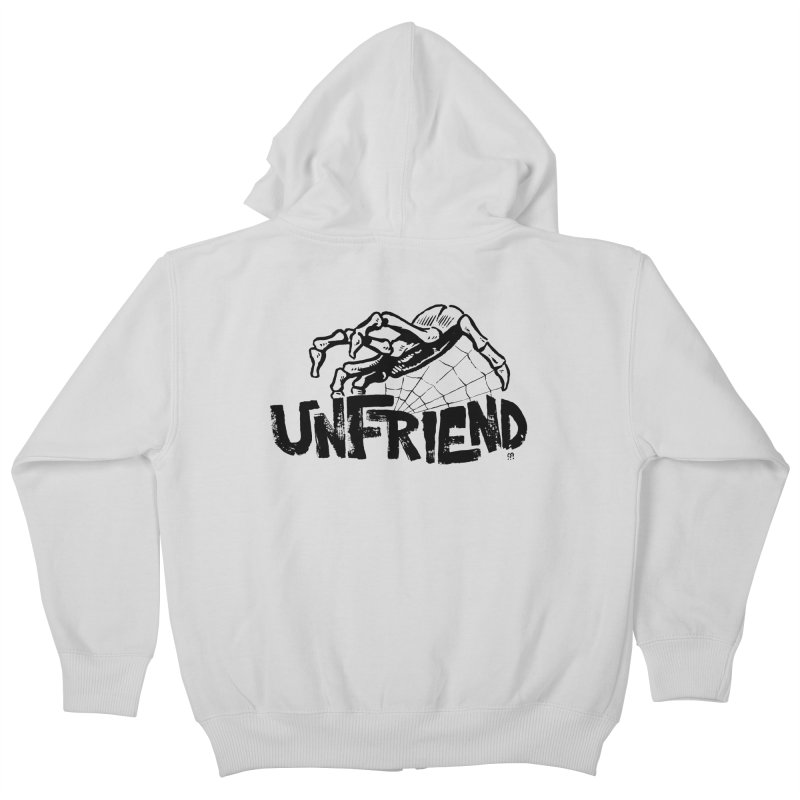 Unfriendead Kids Zip-Up Hoody by Cheap Chills Fan Club