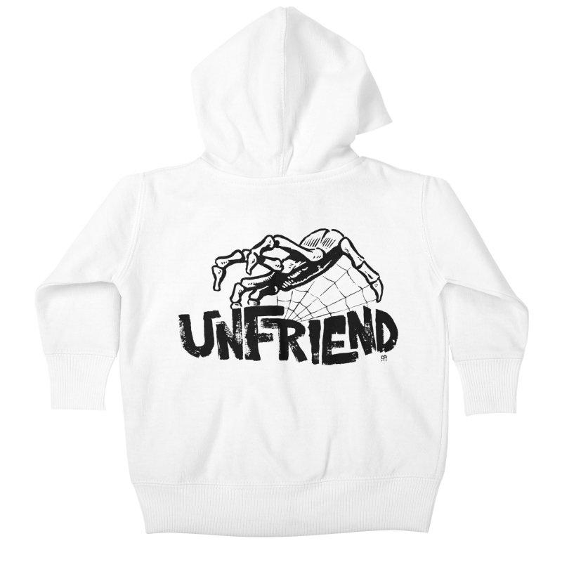 Unfriendead Kids Baby Zip-Up Hoody by Cheap Chills Fan Club