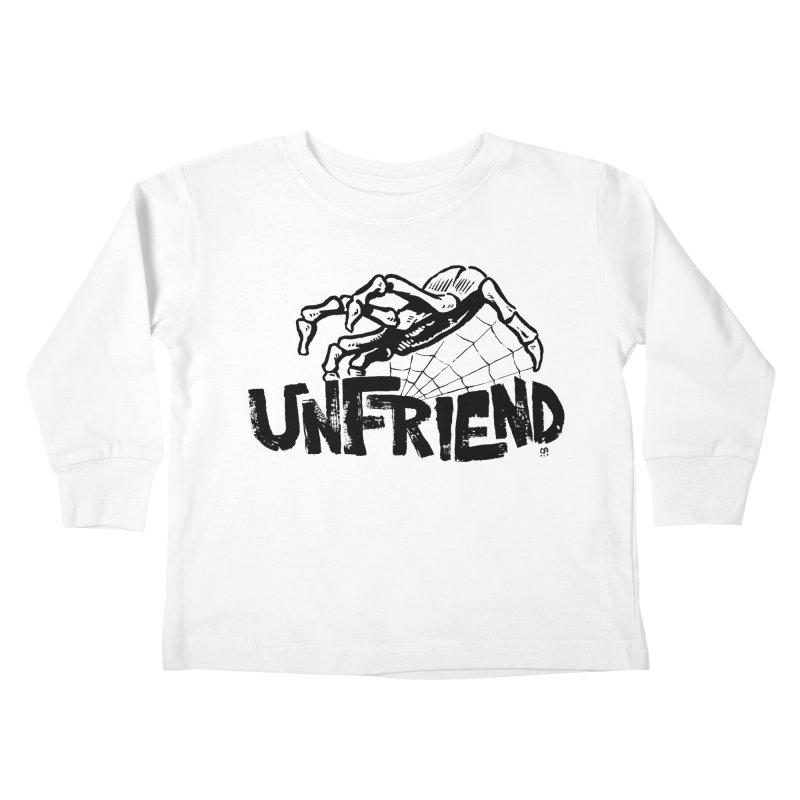 Unfriendead Kids Toddler Longsleeve T-Shirt by Cheap Chills Fan Club