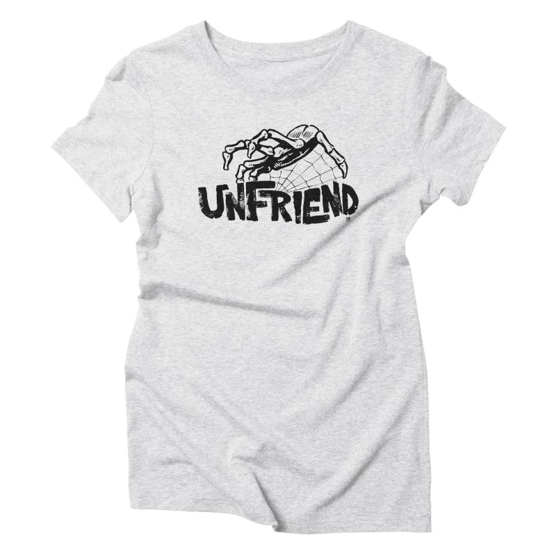 Unfriendead Women's Triblend T-Shirt by Cheap Chills Fan Club