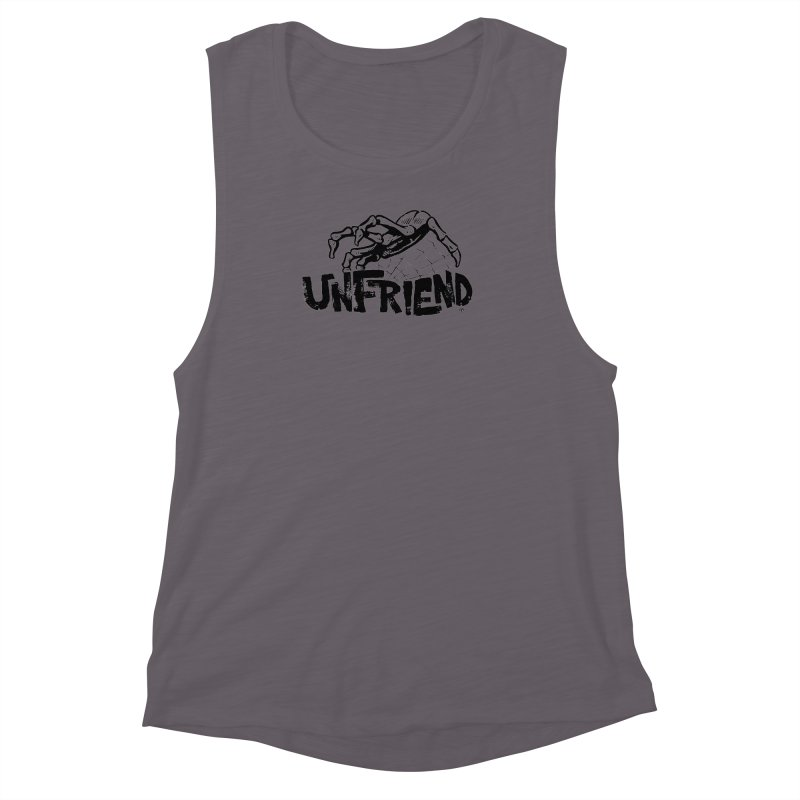 Unfriendead Women's Muscle Tank by Cheap Chills Fan Club
