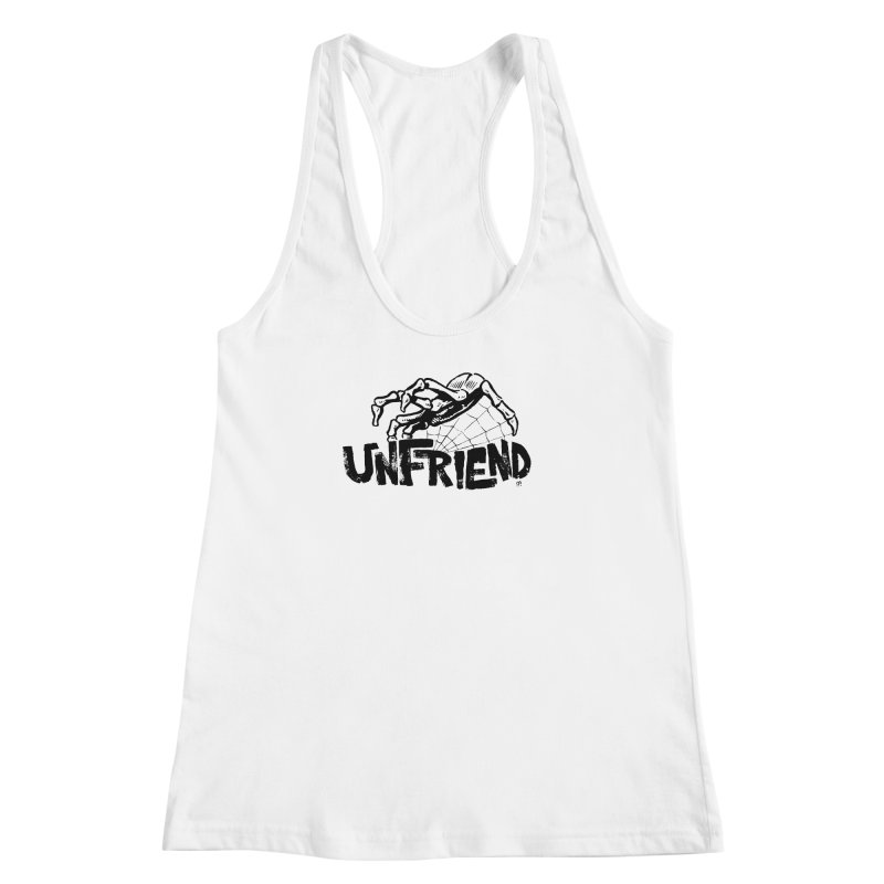 Unfriendead Women's Racerback Tank by Cheap Chills Fan Club