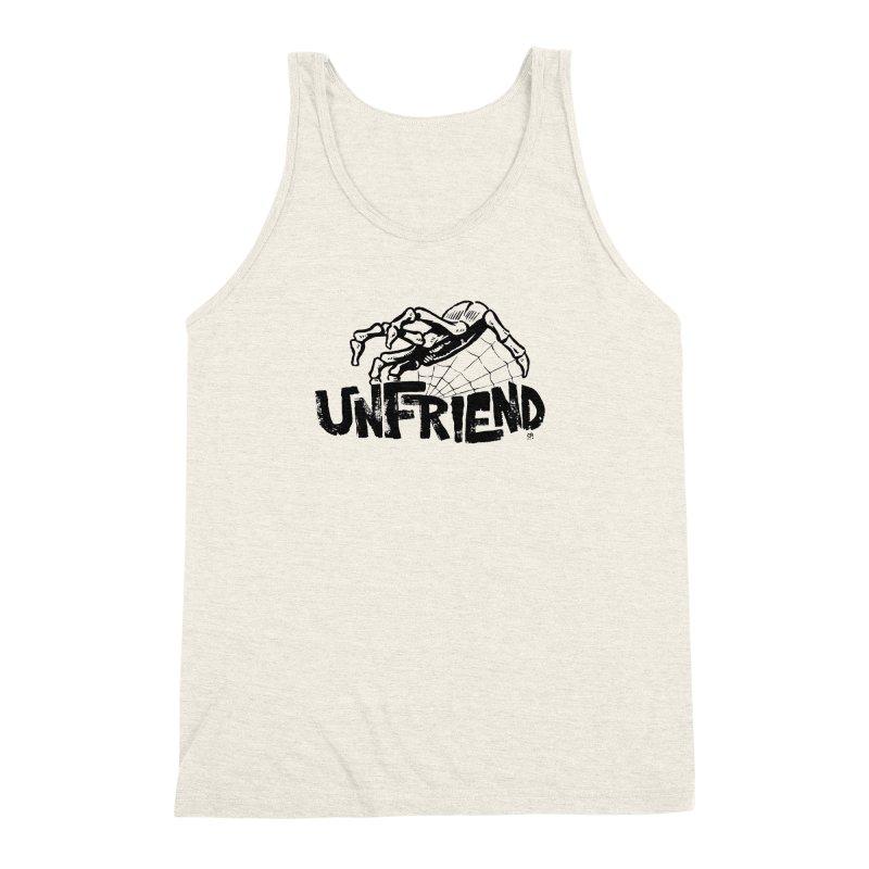 Unfriendead Men's Triblend Tank by Cheap Chills Fan Club