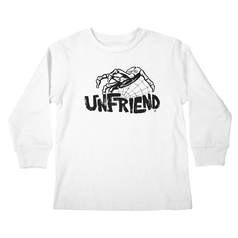 Unfriendead Kids Longsleeve T-Shirt by Cheap Chills Fan Club