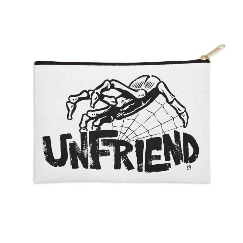 Unfriendead Accessories Zip Pouch by Cheap Chills Fan Club