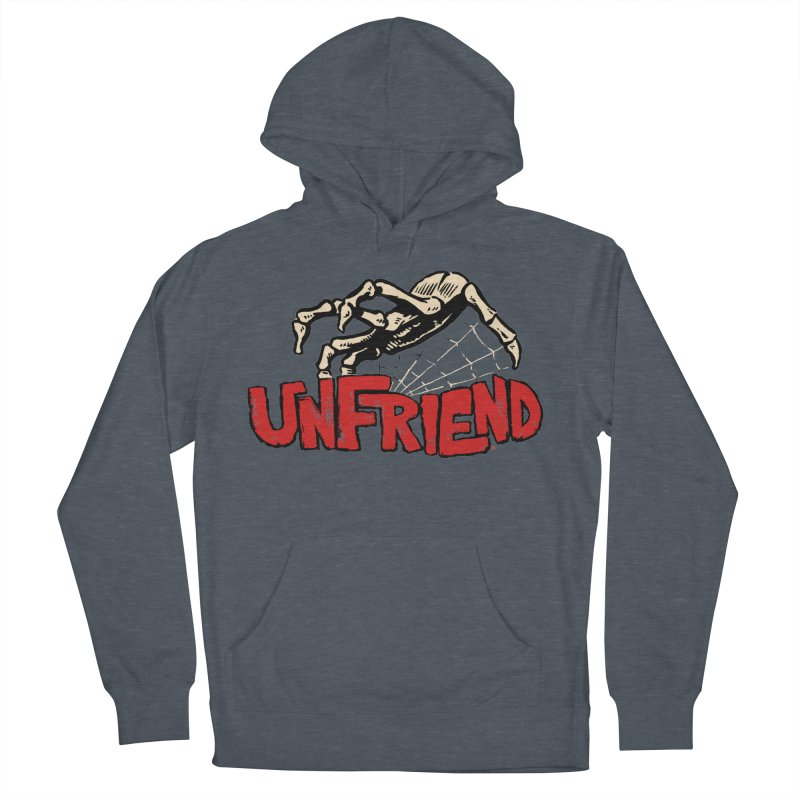 Unfriend three color extra spooky edtion Women's Pullover Hoody by Cheap Chills Fan Club
