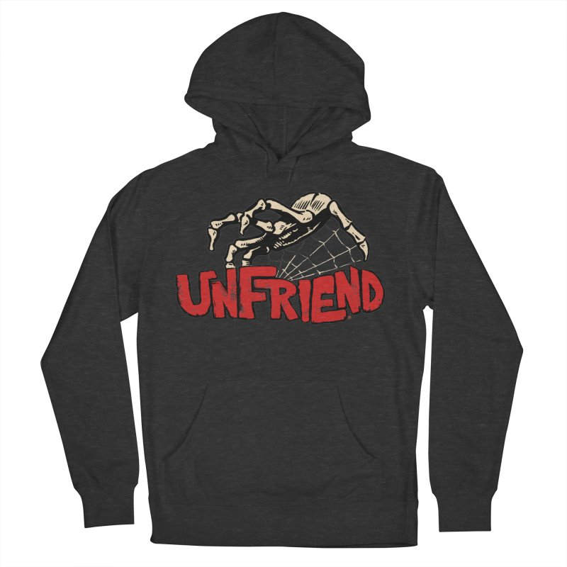 Unfriend three color extra spooky edtion Men's Pullover Hoody by Cheap Chills Fan Club