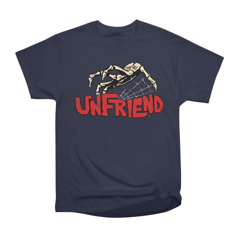 Unfriend three color extra spooky edtion Women's Classic Unisex T-Shirt by Cheap Chills Fan Club