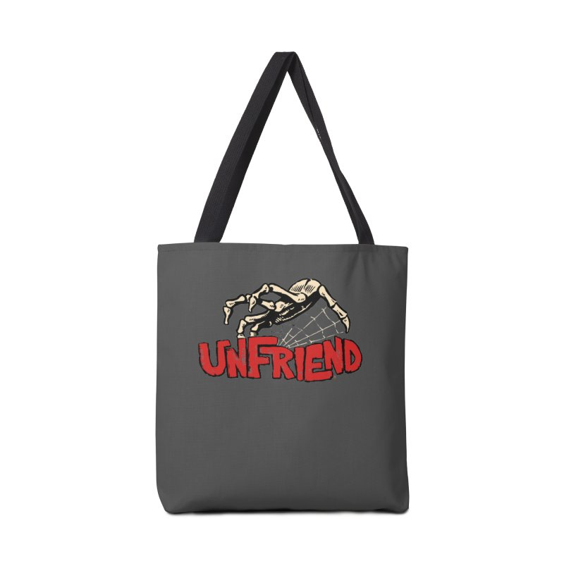 Unfriend three color extra spooky edtion Accessories Bag by Cheap Chills Fan Club