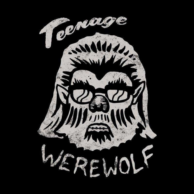 Teenage Werewolf - Silver edition by Cheap Chills Fan Club