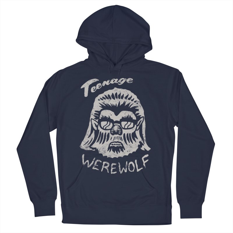 Teenage Werewolf - Silver edition Women's Pullover Hoody by Cheap Chills Fan Club