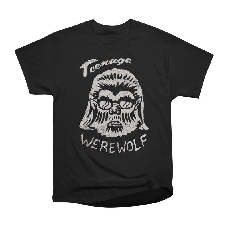 Teenage Werewolf - Silver edition Women's Classic Unisex T-Shirt by Cheap Chills Fan Club