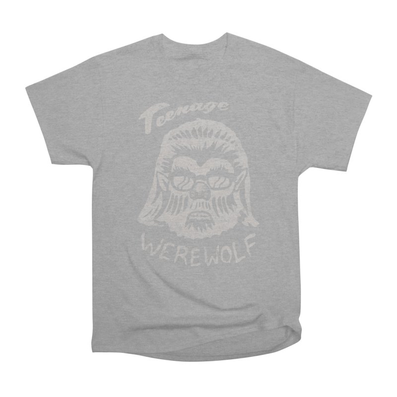 Teenage Werewolf - Silver edition Men's Heavyweight T-Shirt by Cheap Chills Fan Club