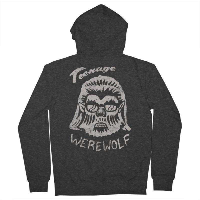 Teenage Werewolf - Silver edition Women's Zip-Up Hoody by Cheap Chills Fan Club