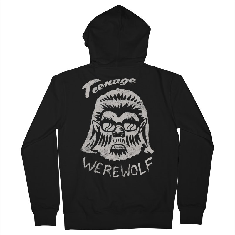 Teenage Werewolf - Silver edition Men's Zip-Up Hoody by Cheap Chills Fan Club