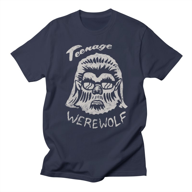 Teenage Werewolf - Silver edition Women's Unisex T-Shirt by Cheap Chills Fan Club