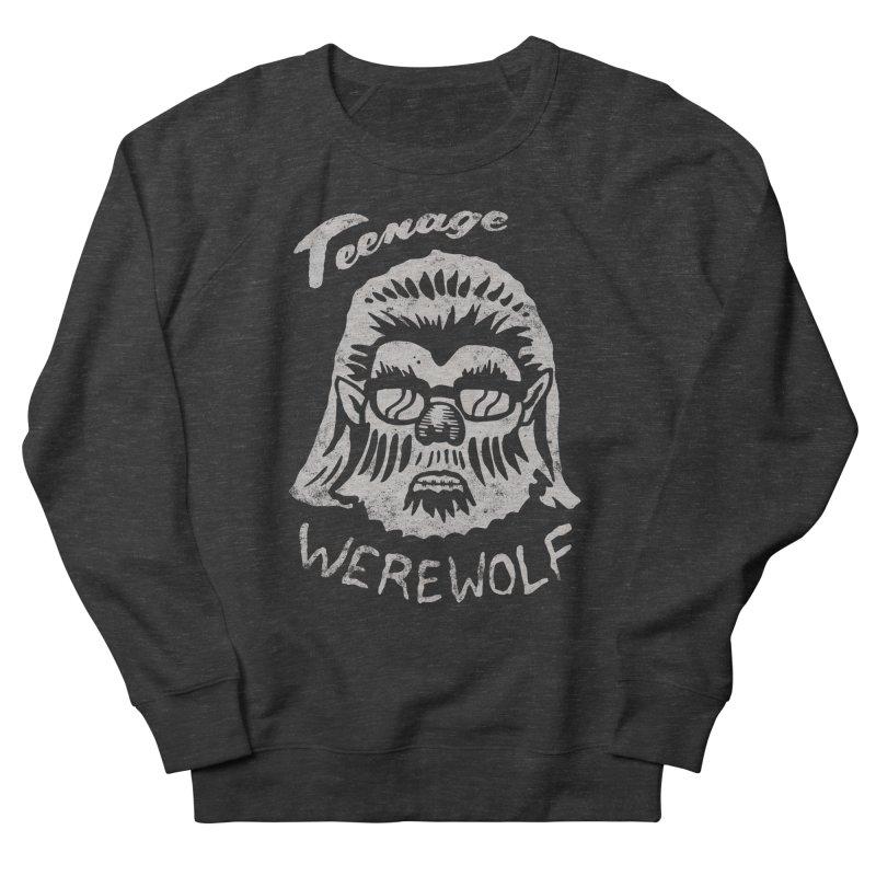 Teenage Werewolf - Silver edition Women's French Terry Sweatshirt by Cheap Chills Fan Club