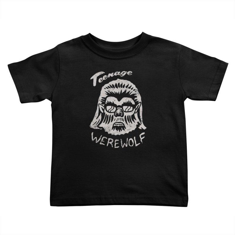 Teenage Werewolf - Silver edition Kids Toddler T-Shirt by Cheap Chills Fan Club
