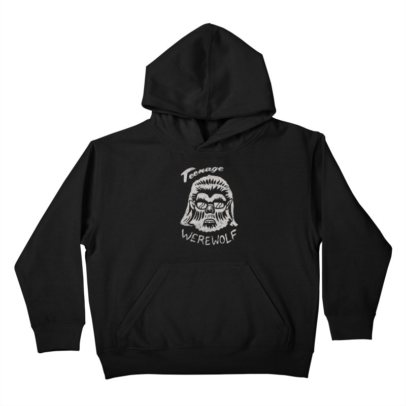 Teenage Werewolf - Silver edition Kids Pullover Hoody by Cheap Chills Fan Club