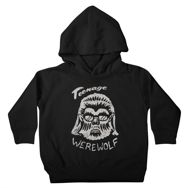 Teenage Werewolf - Silver edition Kids Toddler Pullover Hoody by Cheap Chills Fan Club