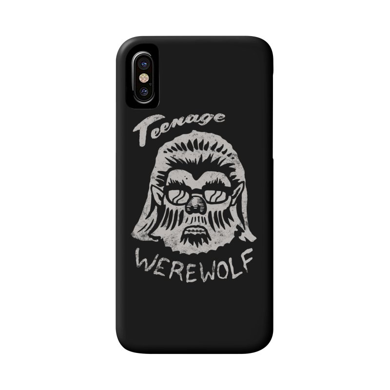 Teenage Werewolf - Silver edition Accessories Phone Case by Cheap Chills Fan Club
