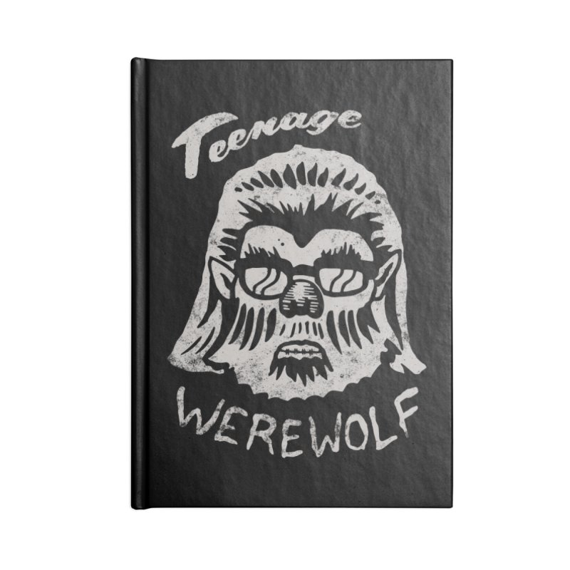 Teenage Werewolf - Silver edition Accessories Notebook by Cheap Chills Fan Club