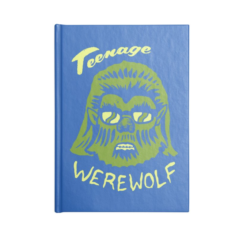 Teenage Werewolf - moonlight edition Accessories Notebook by Cheap Chills Fan Club