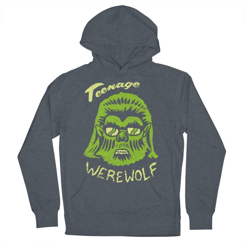 Teenage Werewolf - moonlight edition Women's Pullover Hoody by Cheap Chills Fan Club