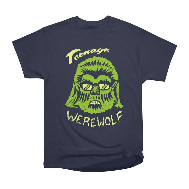 Teenage Werewolf - moonlight edition Women's Classic Unisex T-Shirt by Cheap Chills Fan Club