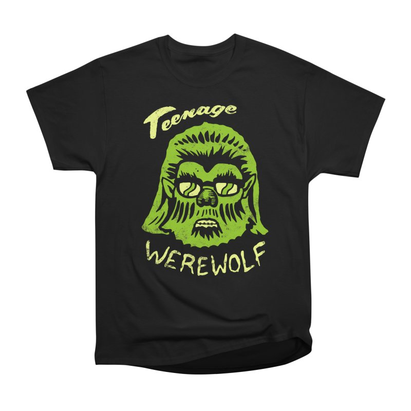Teenage Werewolf - moonlight edition Men's Heavyweight T-Shirt by Cheap Chills Fan Club