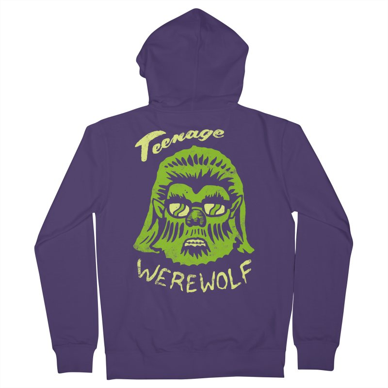 Teenage Werewolf - moonlight edition Women's Zip-Up Hoody by Cheap Chills Fan Club