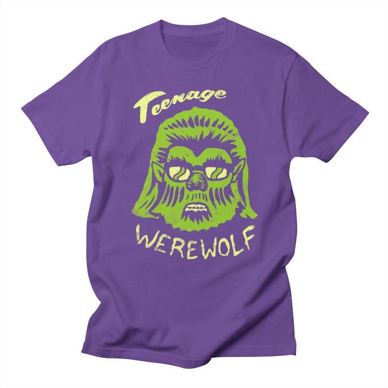 Teenage Werewolf - moonlight edition Women's Unisex T-Shirt by Cheap Chills Fan Club