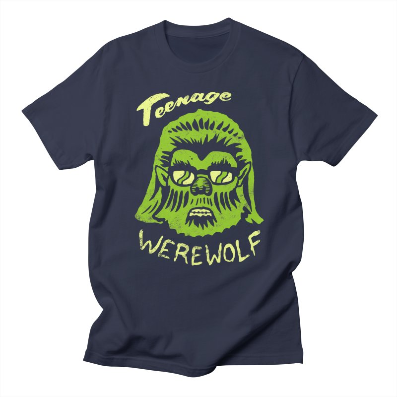 Teenage Werewolf - moonlight edition Men's T-Shirt by Cheap Chills Fan Club