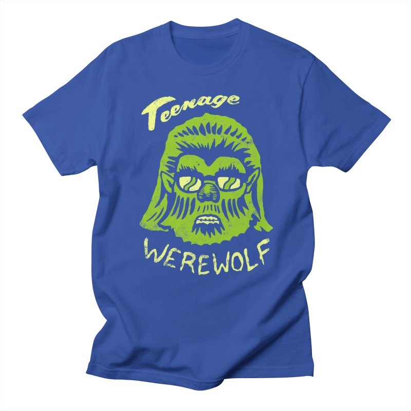 Teenage Werewolf - moonlight edition Women's Unisex T-Shirt by Cheap Chills Fan Club