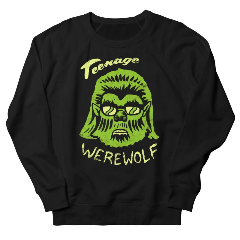 Teenage Werewolf - moonlight edition Women's Sweatshirt by Cheap Chills Fan Club