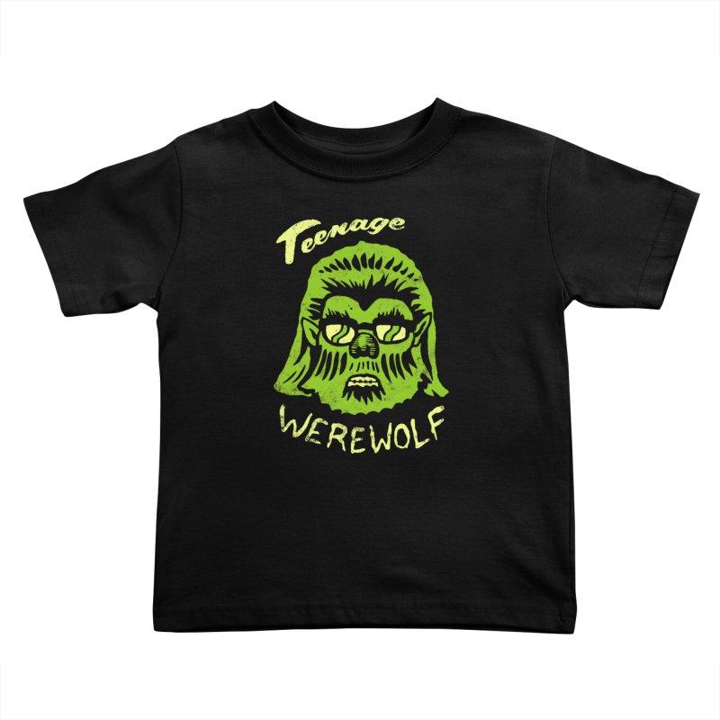 Teenage Werewolf - moonlight edition Kids Toddler T-Shirt by Cheap Chills Fan Club