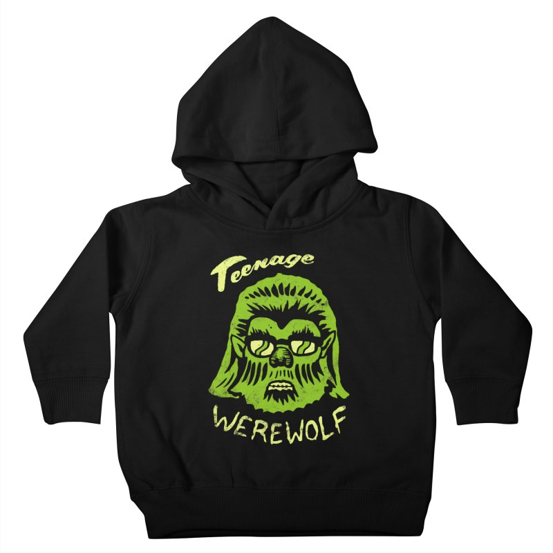 Teenage Werewolf - moonlight edition Kids Toddler Pullover Hoody by Cheap Chills Fan Club