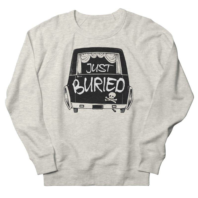 Just Buried - Hearse car Men's Sweatshirt by Cheap Chills Fan Club
