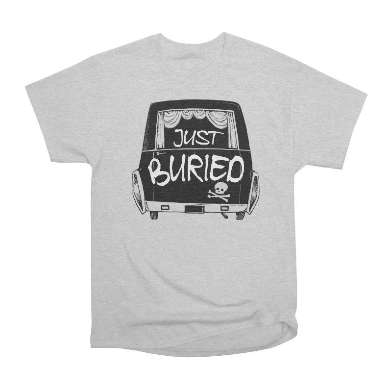 Just Buried - Hearse car Men's Heavyweight T-Shirt by Cheap Chills Fan Club