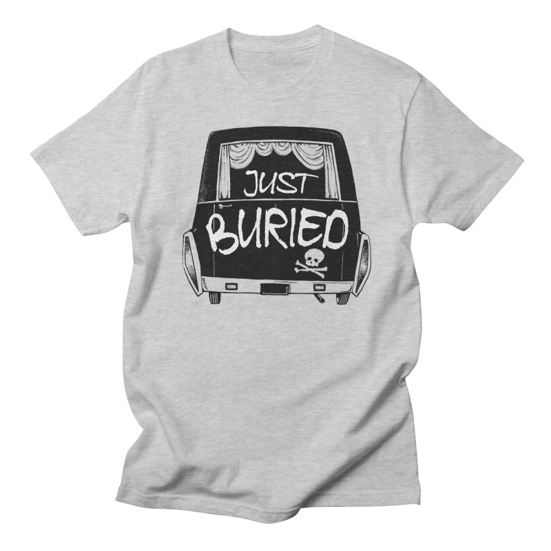 Just Buried - Hearse car Women's Regular Unisex T-Shirt by Cheap Chills Fan Club