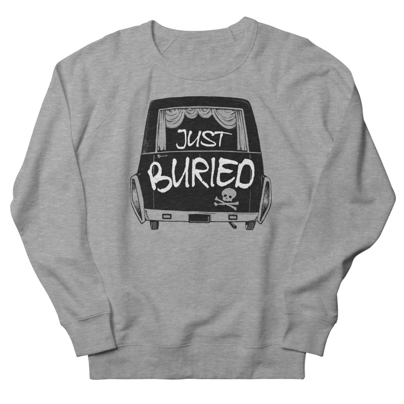 Just Buried - Hearse car Women's French Terry Sweatshirt by Cheap Chills Fan Club