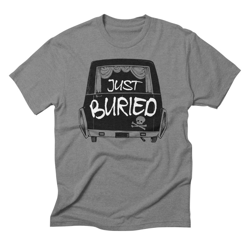 Just Buried - Hearse car Men's Triblend T-Shirt by Cheap Chills Fan Club