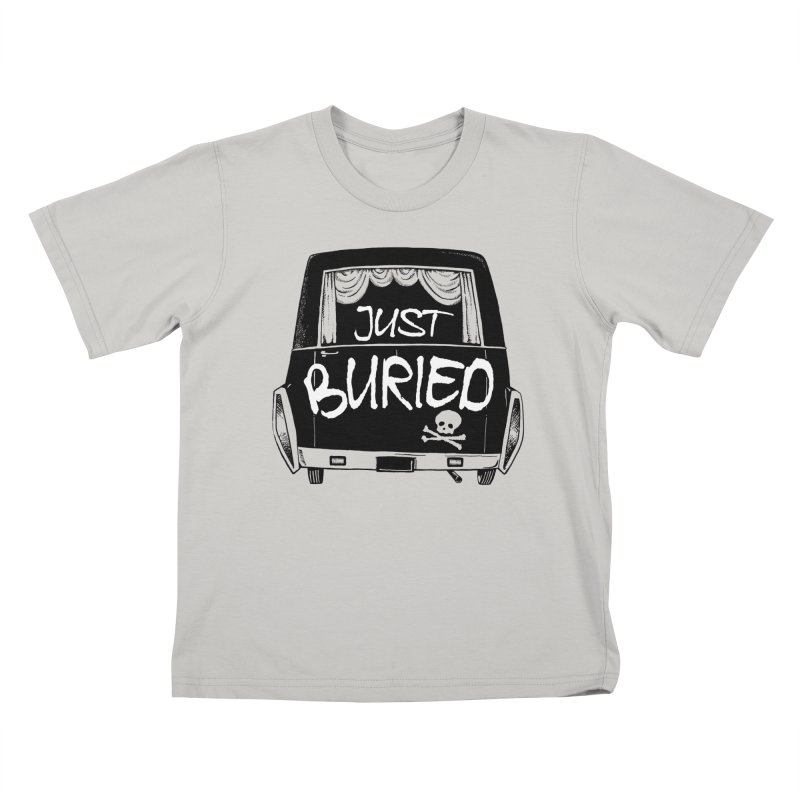 Just Buried - Hearse car Kids T-Shirt by Cheap Chills Fan Club
