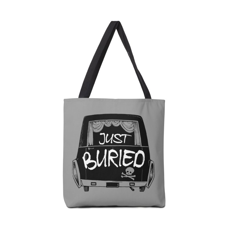 Just Buried - Hearse car Accessories Tote Bag Bag by Cheap Chills Fan Club