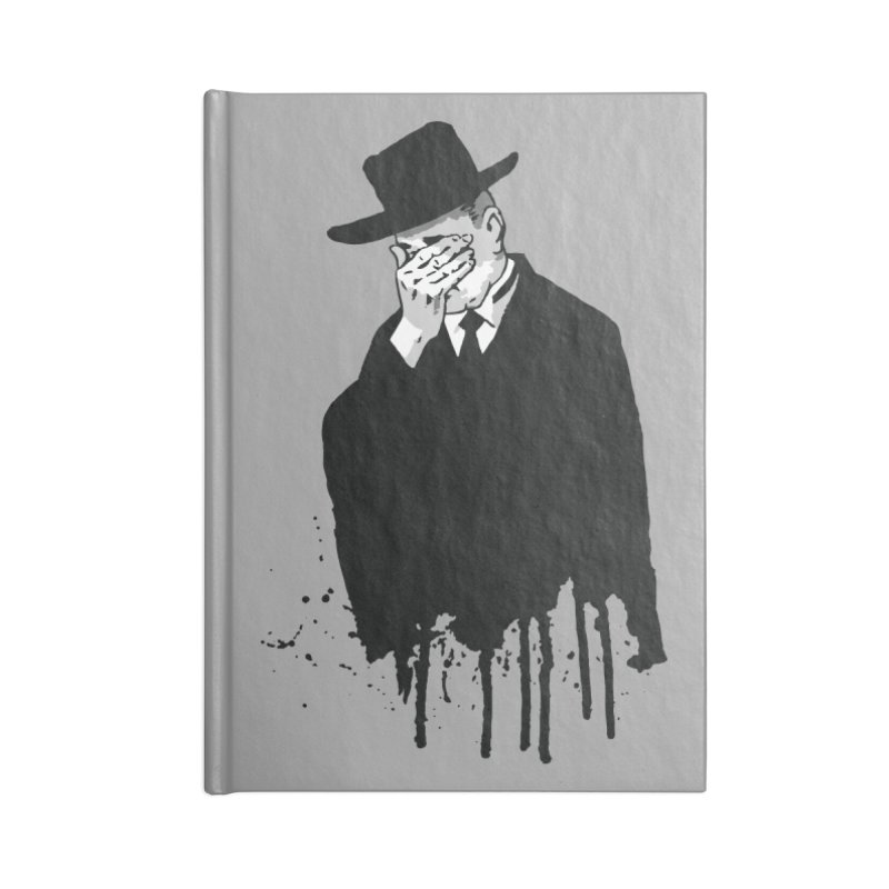 Plan 9 Mourner Accessories Notebook by Cheap Chills Fan Club